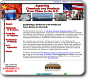 Exporting Chemicals & Products from China to the U.S.