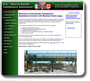 U.S. Mexico Border Compliance Assistance - English